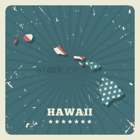 Oldfashioned : Hawaii map