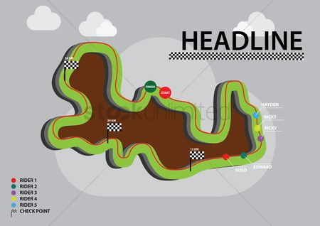 Race : Headline infographic