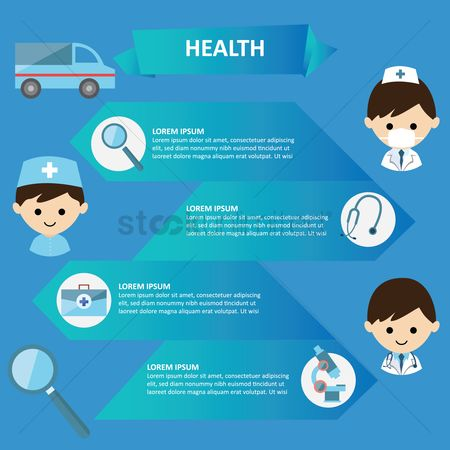 Doctor : Health infographic