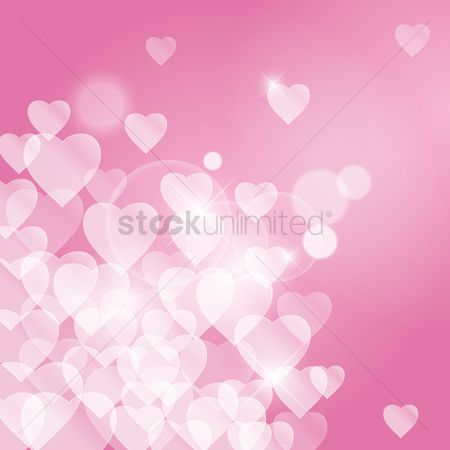Heart shape : Heart background