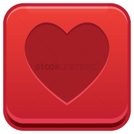 Heart : Heart button
