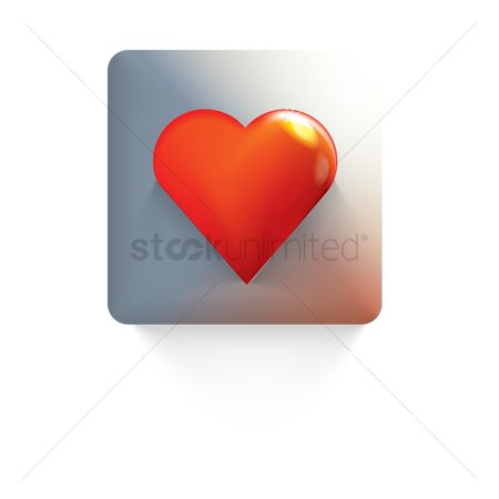 Online dating icon : Heart icon
