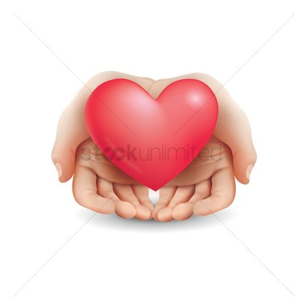 Romance : Heart in hands