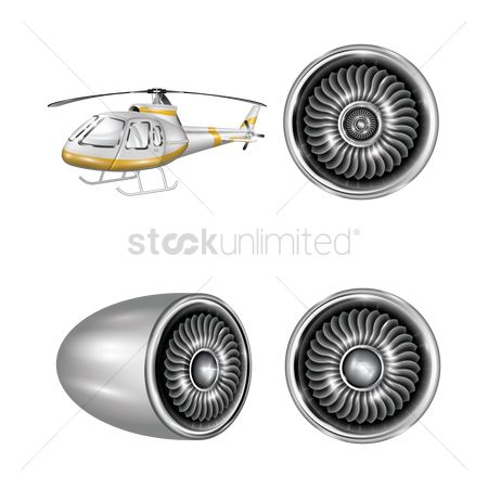 Helicopter : Helicopter and ducted fan