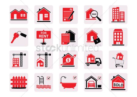 Shopping cart : Home icons