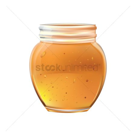 Container : Honey jar