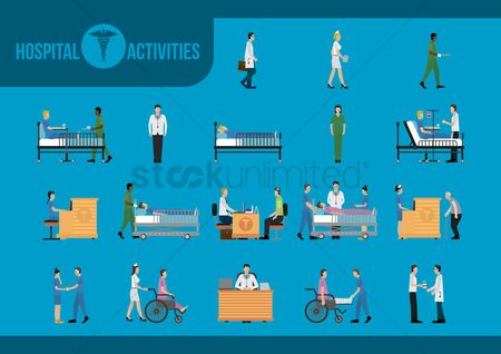 Servings : Hospital activities