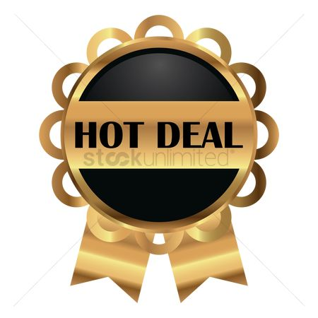 Business deal : Hot deal label
