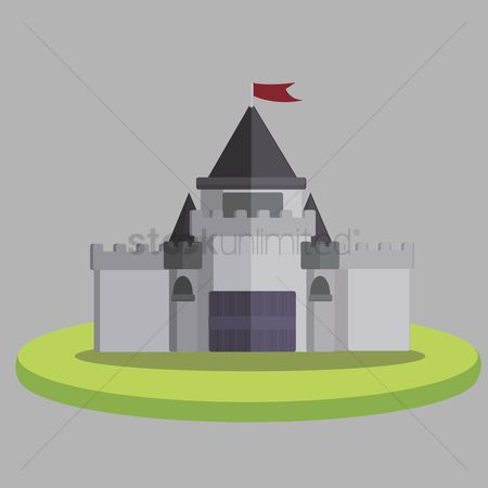 Barrier : Illustration of a castle