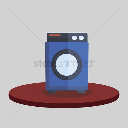 Chores : Illustration of a washing machine
