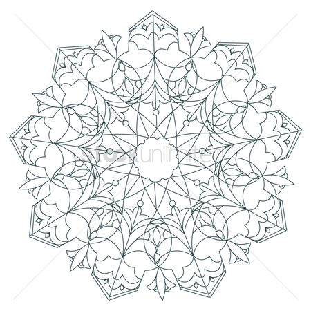 Holiday : Indian rangoli design