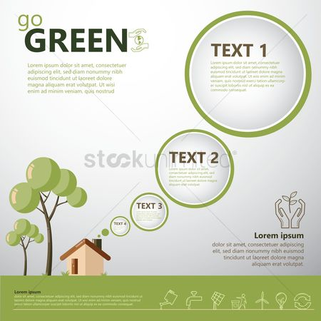 Symbols : Infographic of environment