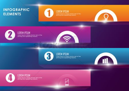 Wifi : Infographic template