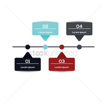 free timeline template stock vectors stockunlimited