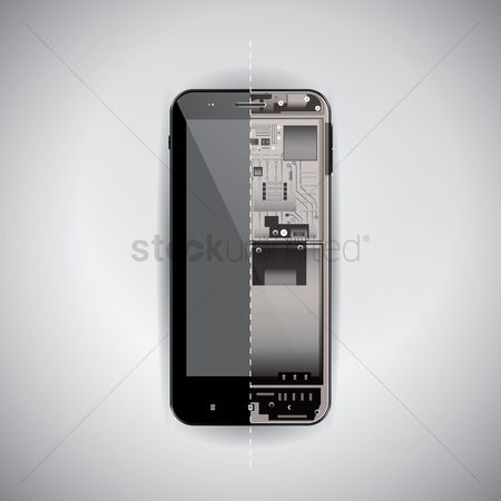 Xray : Inside a smartphone