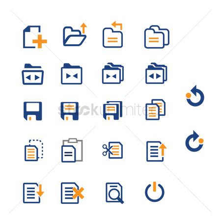Refresh : Interface icons
