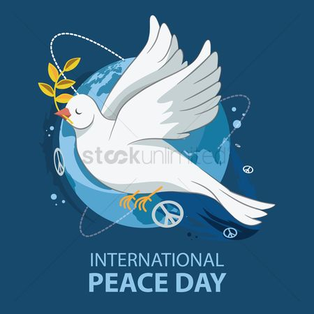 Poster : International peace day design