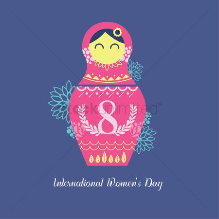 Dolls : International women s day design