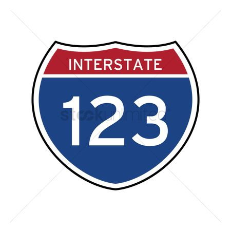 Interstates : Interstate 123 route sign
