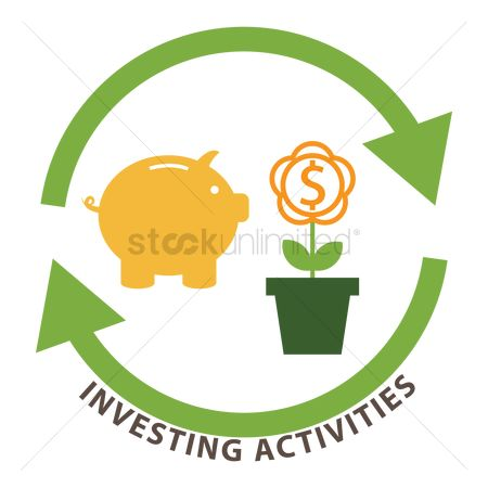 Piggy banks : Investing activities