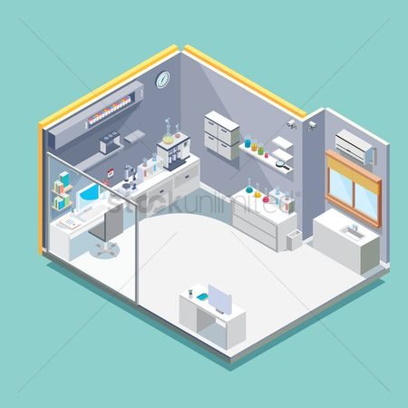 Medical : Isometric laboratory