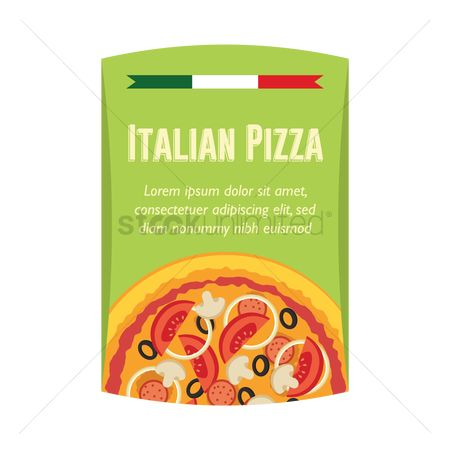 Tricolored : Italian pizza