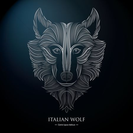 Backdrops : Italian wolf background