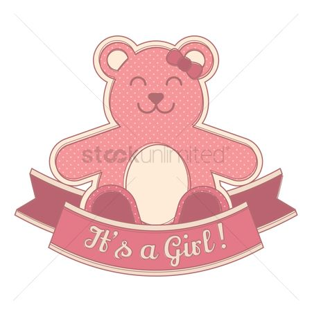Dolls : Its a girl sticker