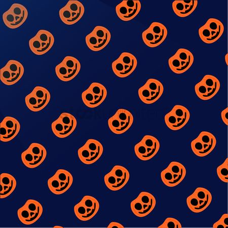 Jack o lantern : Jack o  lantern halloween background