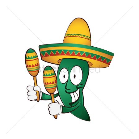 Mexicans : Jalapeno character