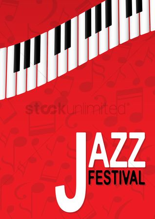 Commercials : Jazz festival poster design