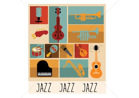 Drums : Jazz instruments