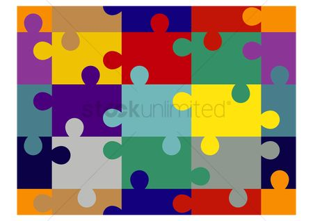 Jigsaw : Jigsaw puzzle background