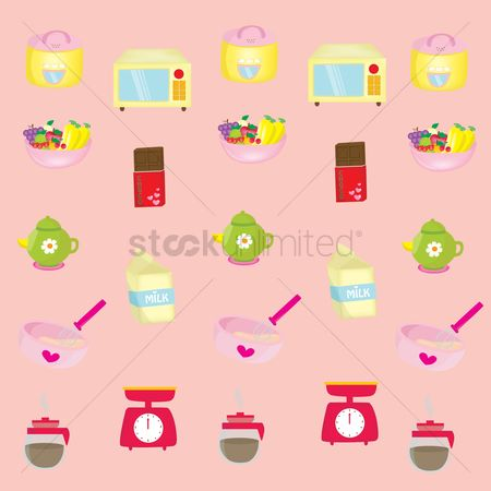 Chocolates : Kitchen and food background