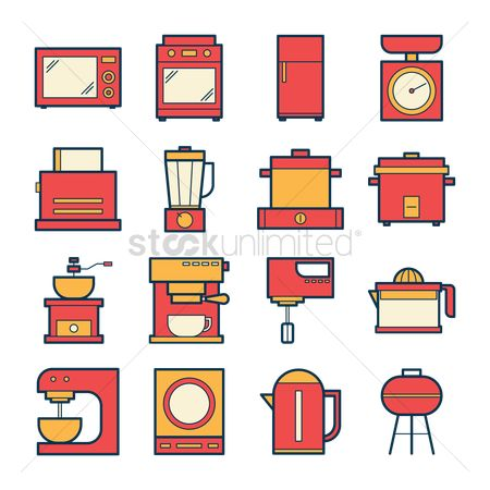Appliances : Kitchen appliances collection