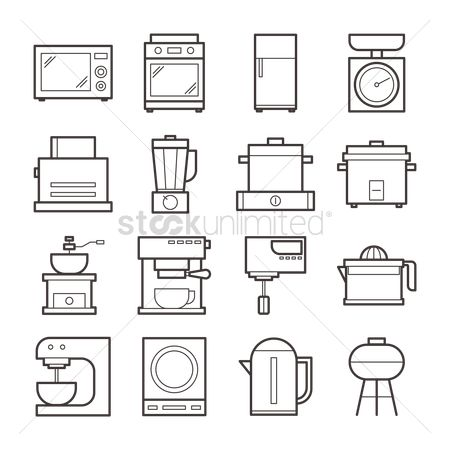 Appliance : Kitchen appliances collection