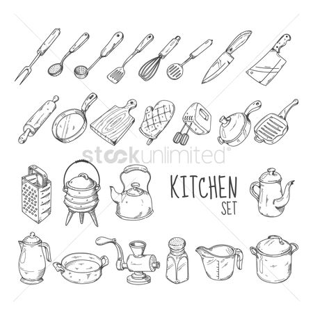 Fork : Kitchen set collection