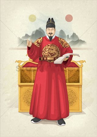 Royal : Korean royal traditional attire