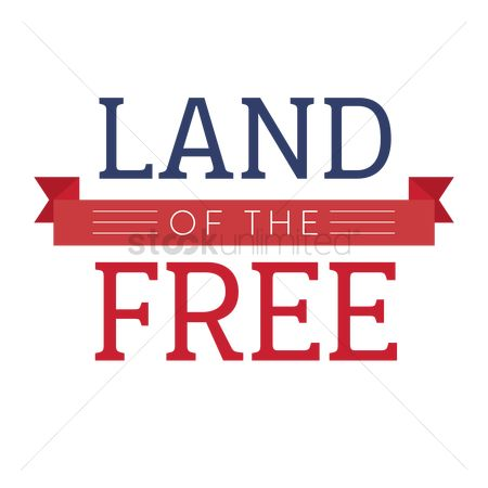 Poster : Land of the free poster