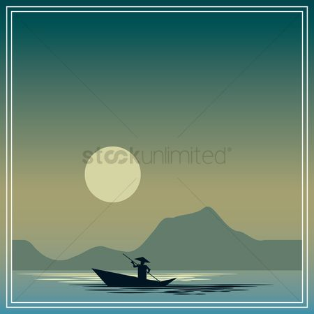 Sail : Landscape background design