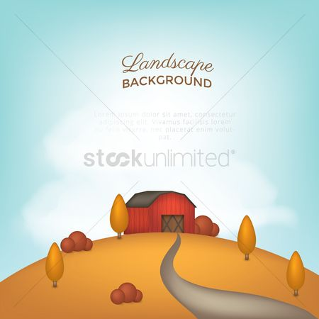 Hills : Landscape background
