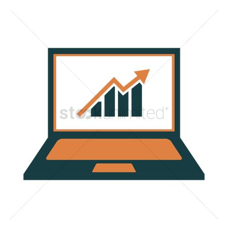 Market : Laptop icon