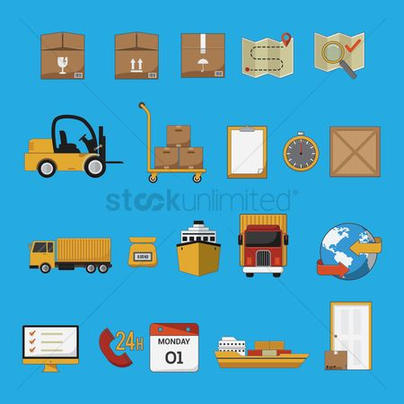 Customers : Logistic and transportation collection