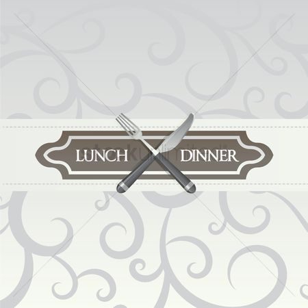 Dinner : Lunch and dinner poster