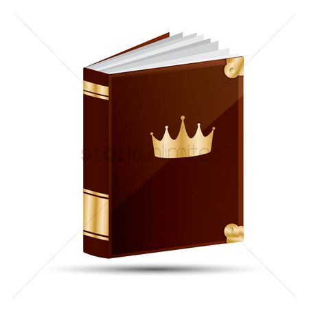 Crown : Magic book