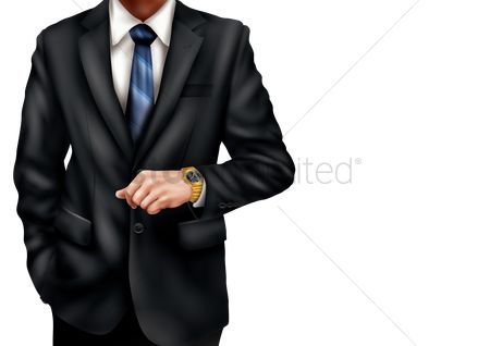 Arm : Man in formal attire