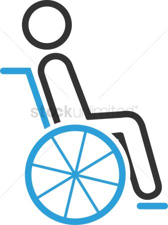 Wheelchair : Man on wheelchair