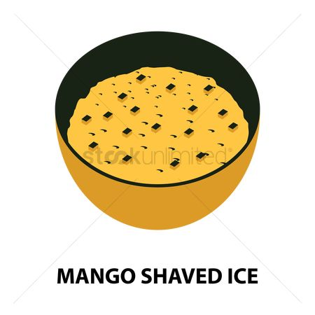 Mangoes : Mango shaved ice