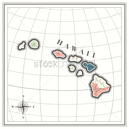 Free Comp Rose Stock Vectors | StockUnlimited Montana Usa Map With Compas Rose on