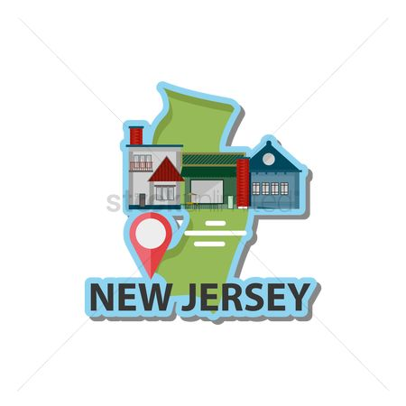 Navigator : Map of new jersey state